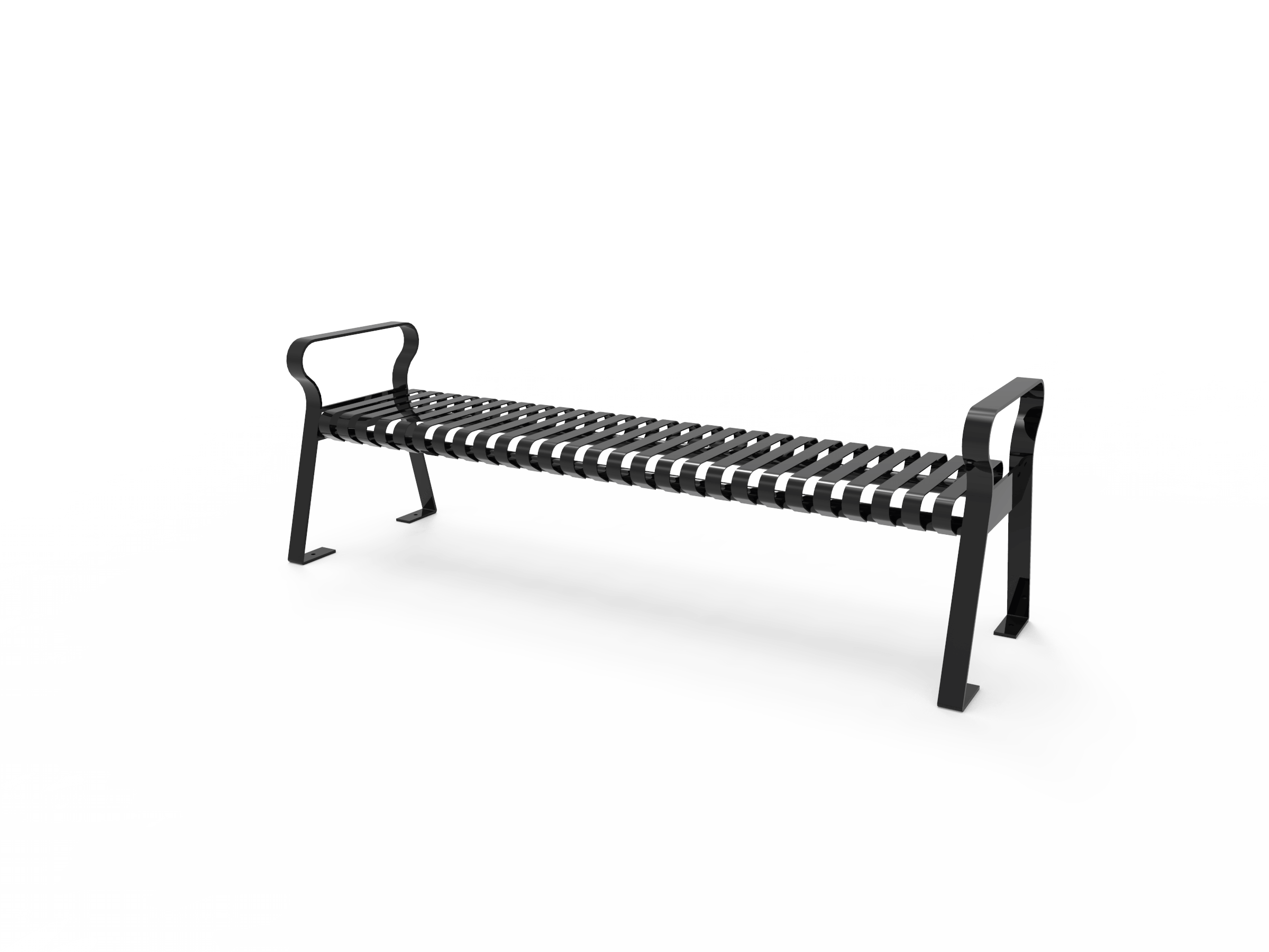 Brilliant Downtown Backless Bench Pabps2019 Chair Design Images Pabps2019Com