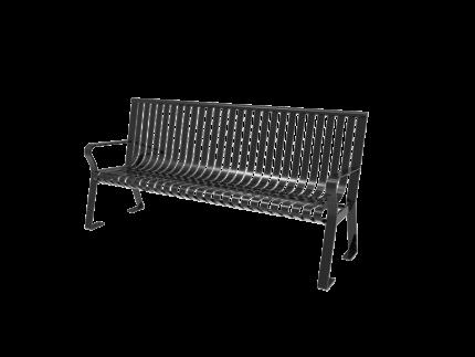 black bench metal