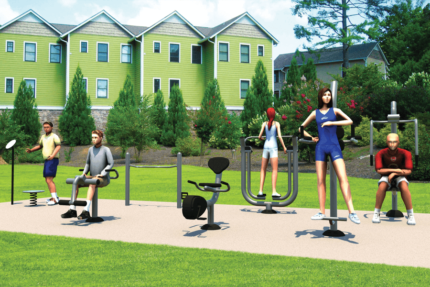 hoa outdoor gym
