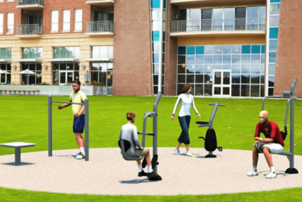 outdoor gym simulation
