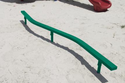 balance beam outdoors