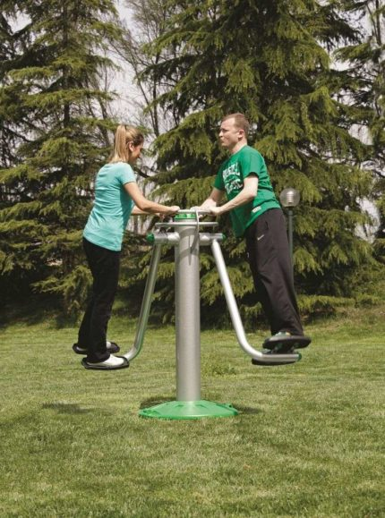 outdoor ab workout machine