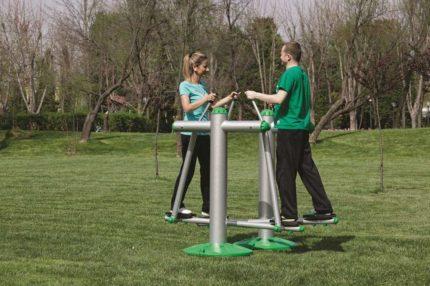partner eliptical outdoor