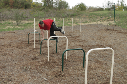 agility exercise outdoor