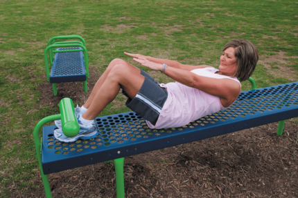 sit up bench outdoor