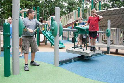 bridge feature for playground