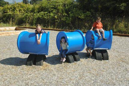 playground tubes