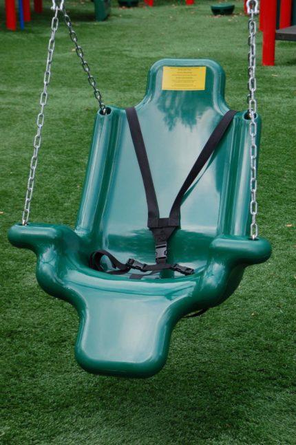 green-baby-swing