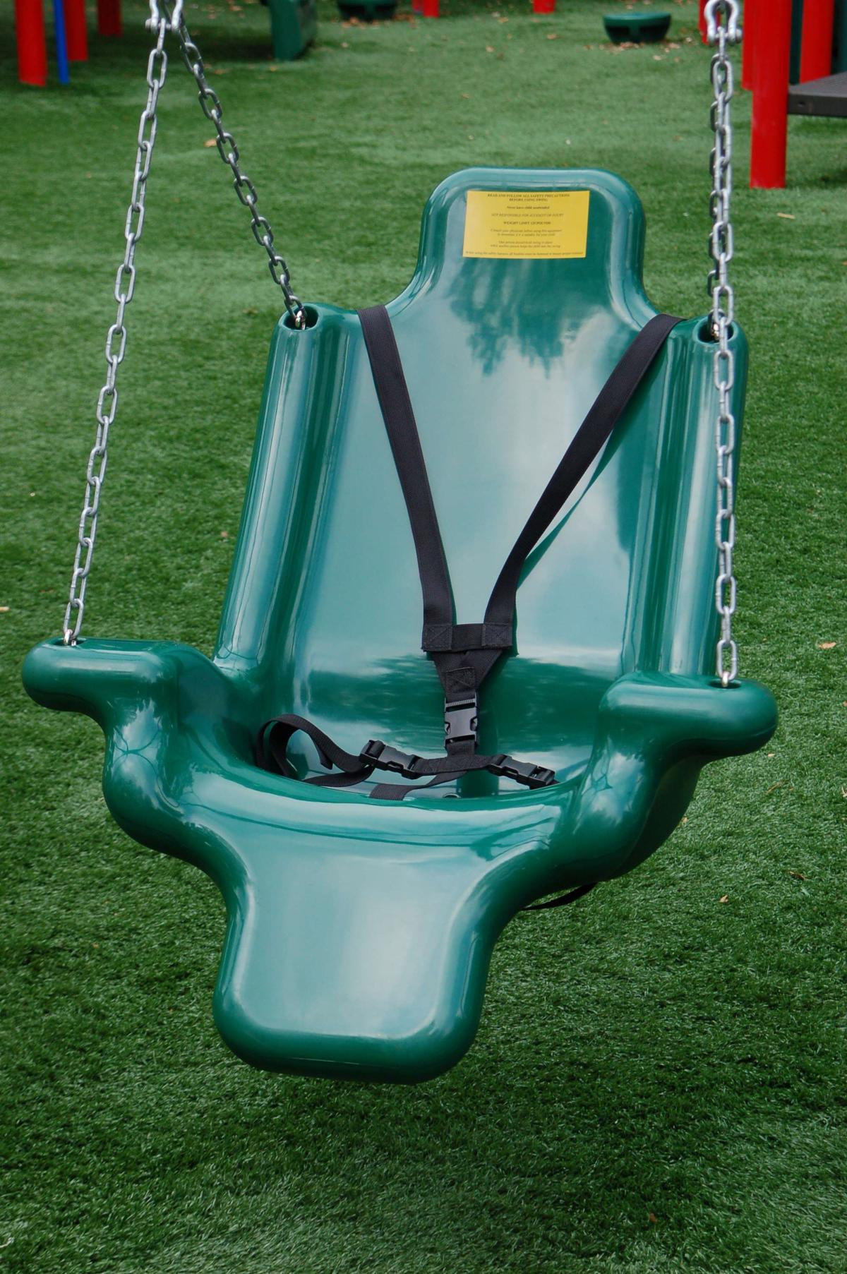 ada swing with chain and harness