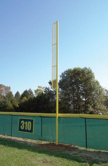 foul post for baseball field