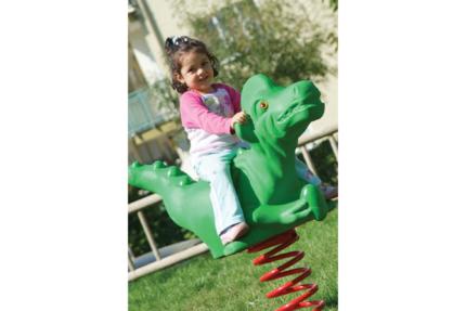 dinosaur playground spring