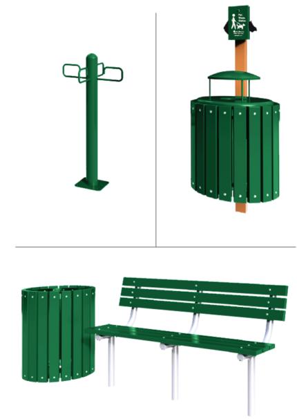 green-dog-park-trash-and-bench