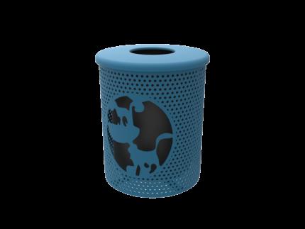 dog-trash-bin