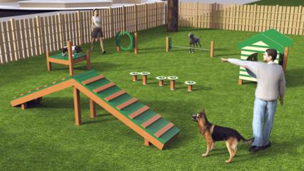 dog-park-simulation