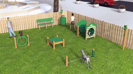 green-dog-park