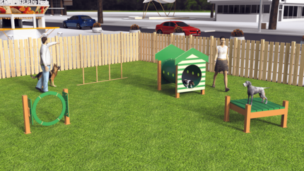 similation-dog-park