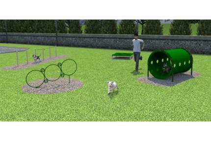 dog-park-simulation-green